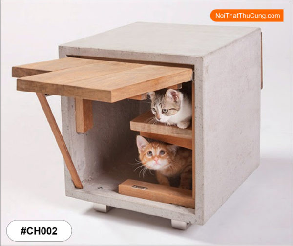 Nhà gỗ cho mèo #CH002